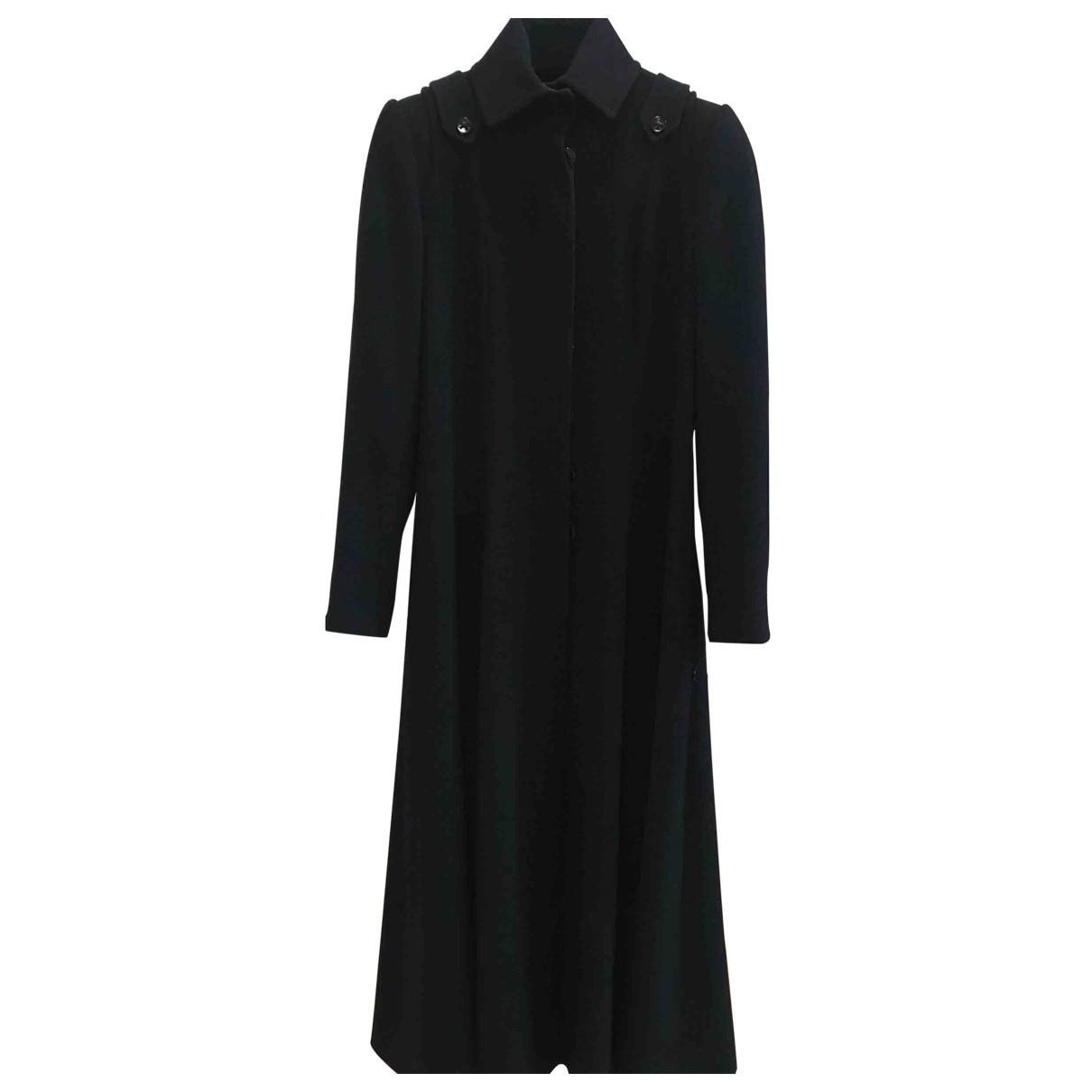 Chanel \N Black Wool coat for Women 36 FR