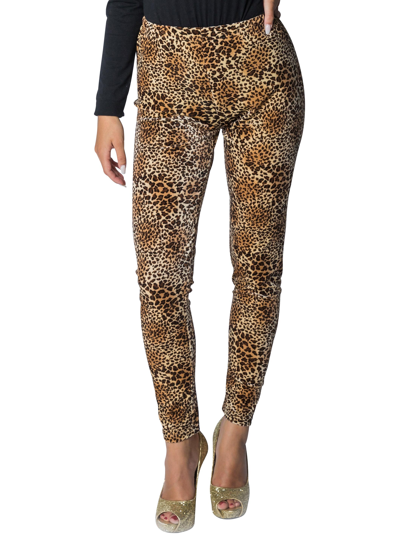 Kostuemzubehor Leggings Leopard L/XL