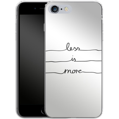 Apple iPhone 6 Plus Silikon Handyhuelle - Less Is More von Mareike Bohmer
