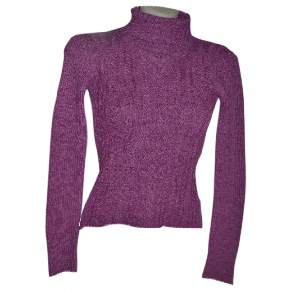 D&g \N Pullover in  Lila Wolle
