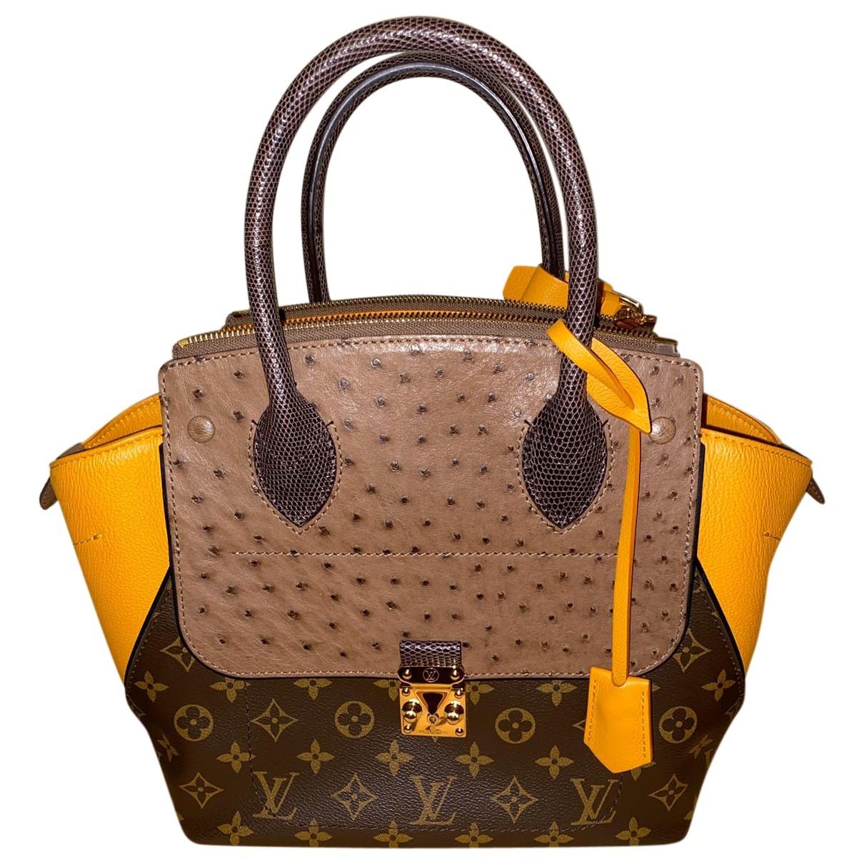 Louis Vuitton Majestueux Multicolour Ostrich handbag for Women \N
