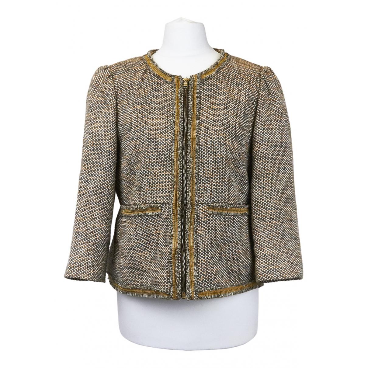 Red Valentino Garavani - Veste   pour femme en tweed - beige