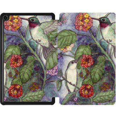 Amazon Fire 7 (2017) Tablet Smart Case - Mary Layton - Flying birds von TATE and CO