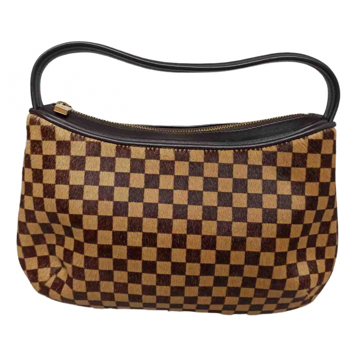 Louis Vuitton N Brown Pony-style calfskin handbag for Women N