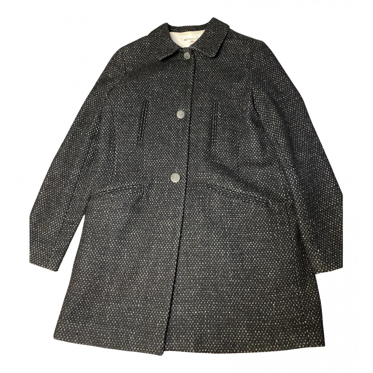 Bonpoint - Manteau   pour femme en laine - bleu