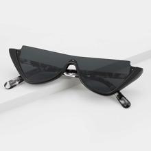 Gafas de sol de hombres de marco acrilico medio