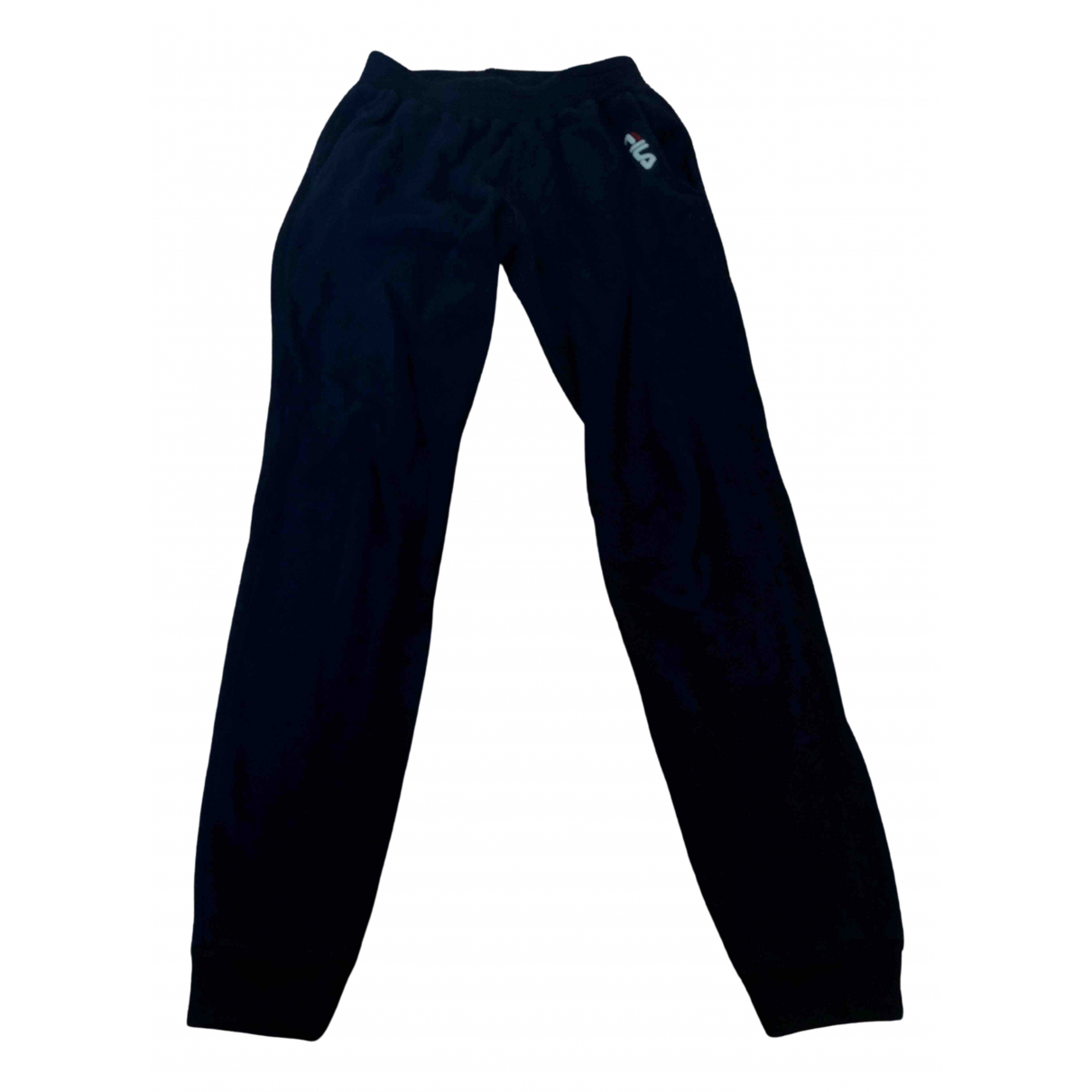 Fila \N Blue Cotton Trousers for Kids 14 years - S FR