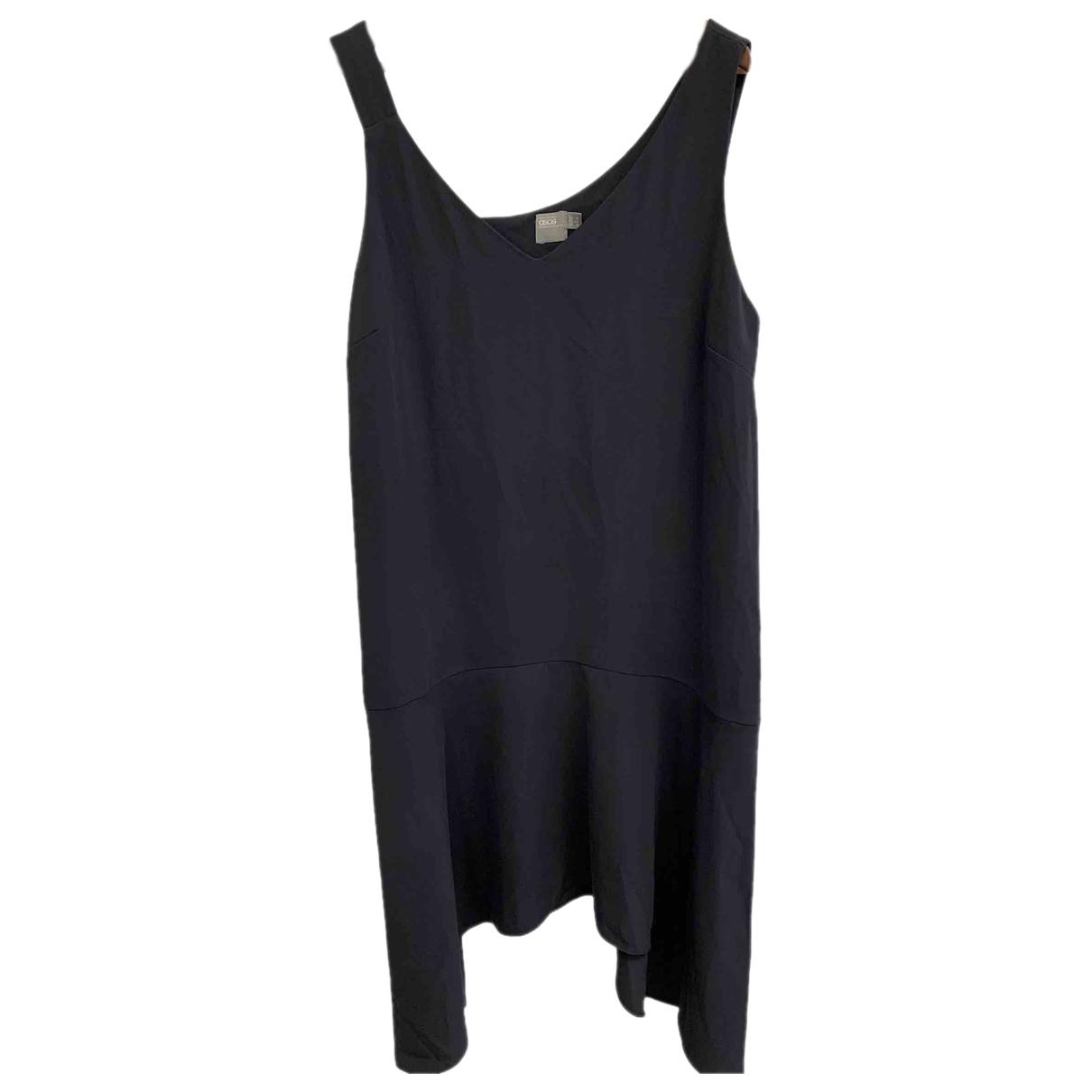 Asos \N Kleid in  Grau Wolle