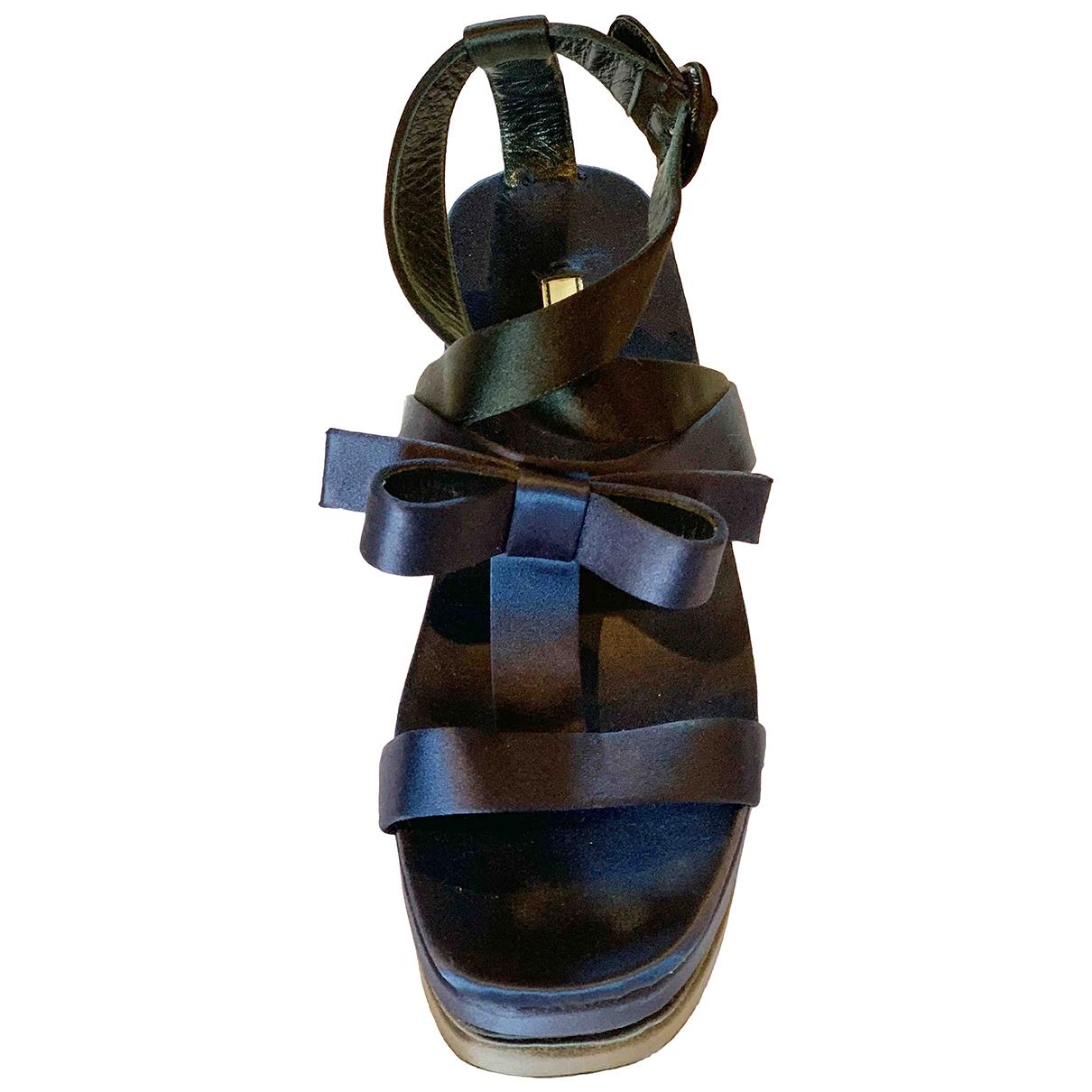Prada - Sandales   pour femme - bleu
