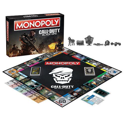 Call of Duty Black Ops Monopoly Game