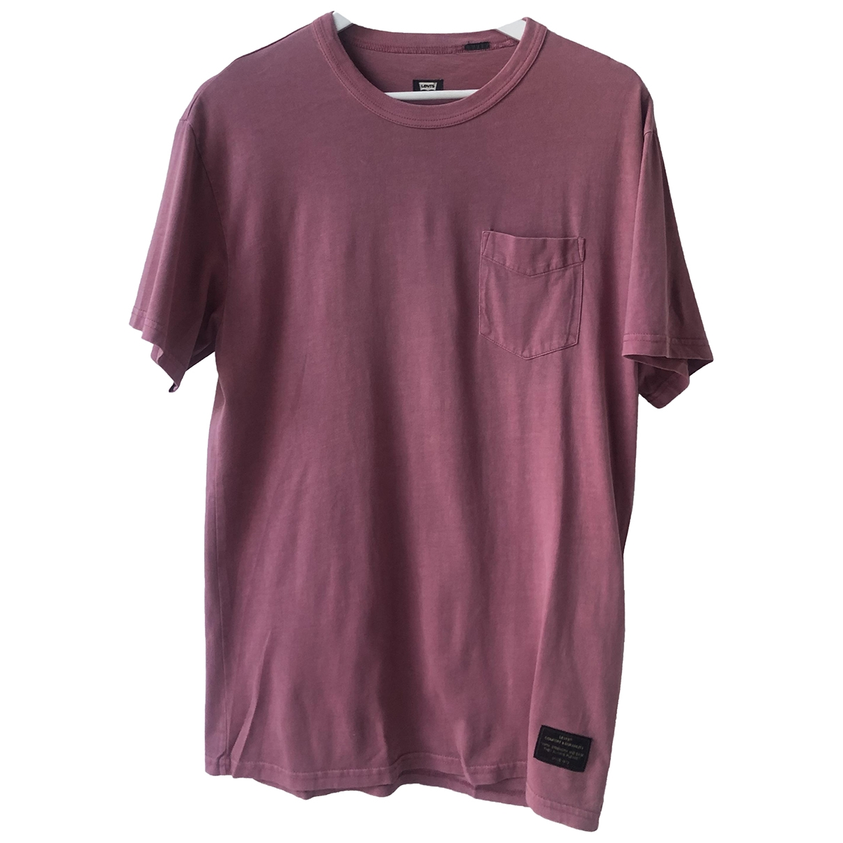 Levi's \N Pink Cotton T-shirts for Men M International