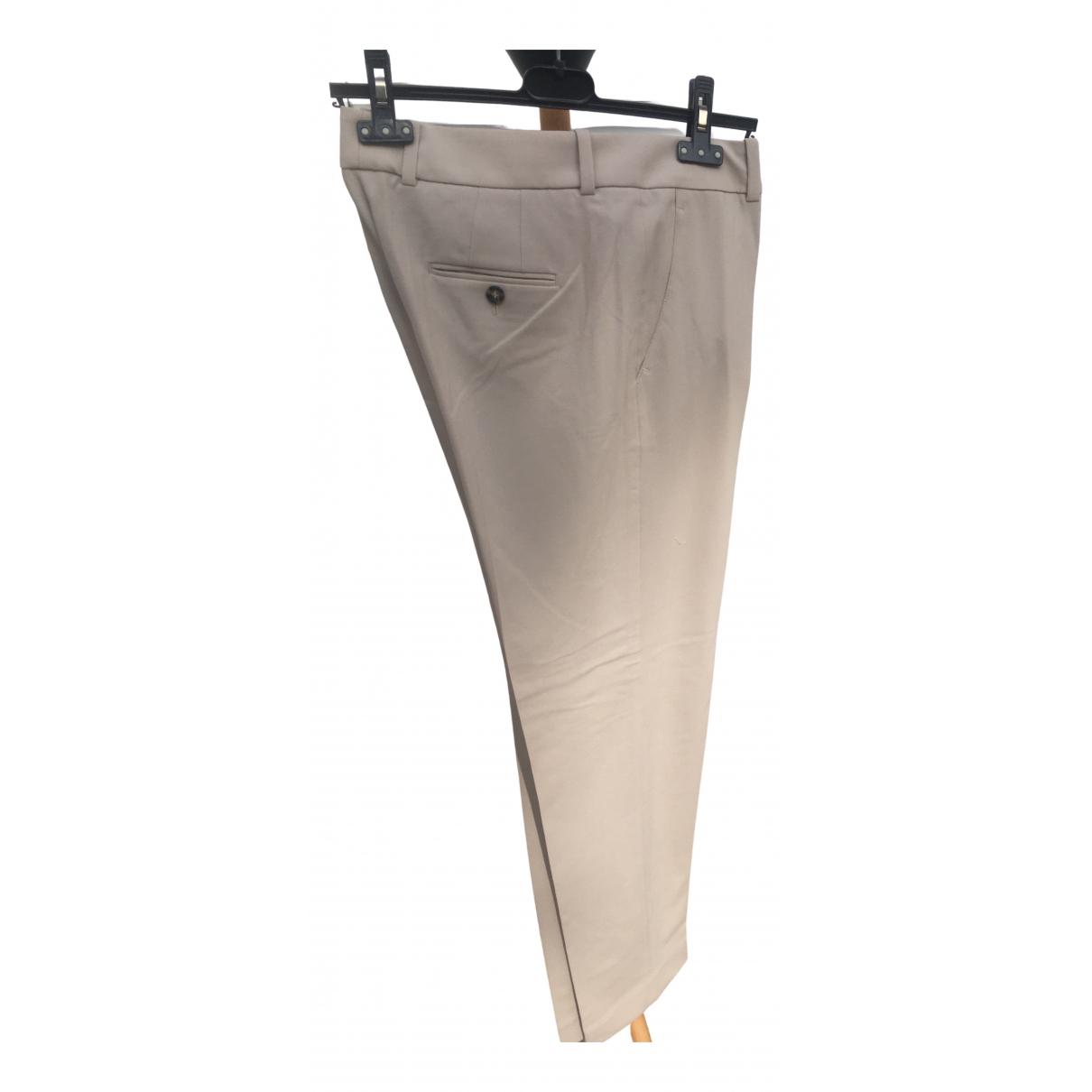Pantalon recto de Lana Armani Collezioni