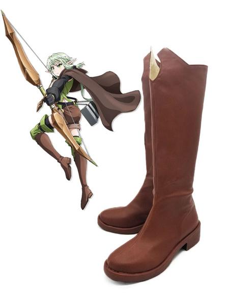 Milanoo Goblin Slayer High Elf Archer Halloween Cosplay Shoes