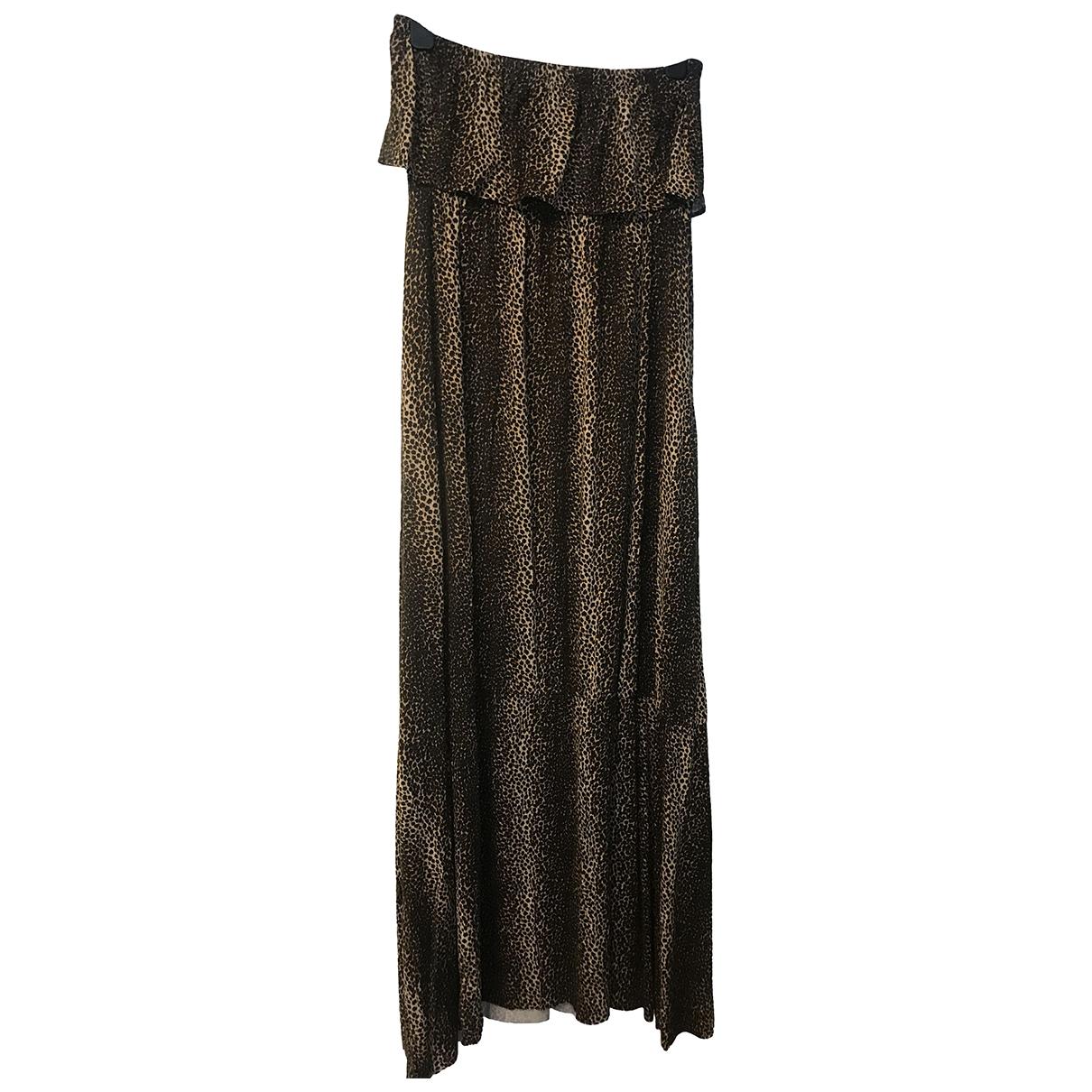 Melissa Odabash \N Kleid in  Braun Baumwolle