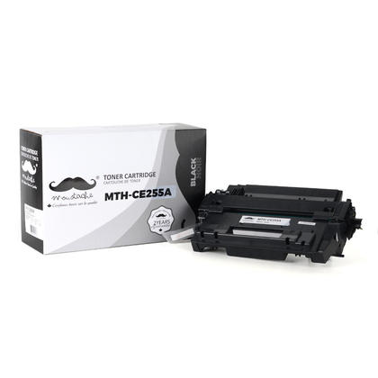 Compatible HP Laserjet Enterprise Flow MFP M525C Black Toner Cartridge - Moustache