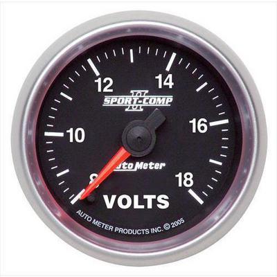 Auto Meter Sport-Comp II Electric Voltmeter Gauge - 3691