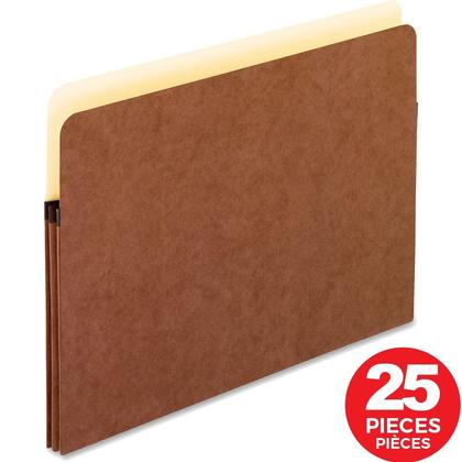 Pendaflex® Expanding File Pocket,25/Pack - 1-3/4 in. (400 sheets), Letter