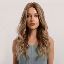 1pc Natural Long Curly Wig