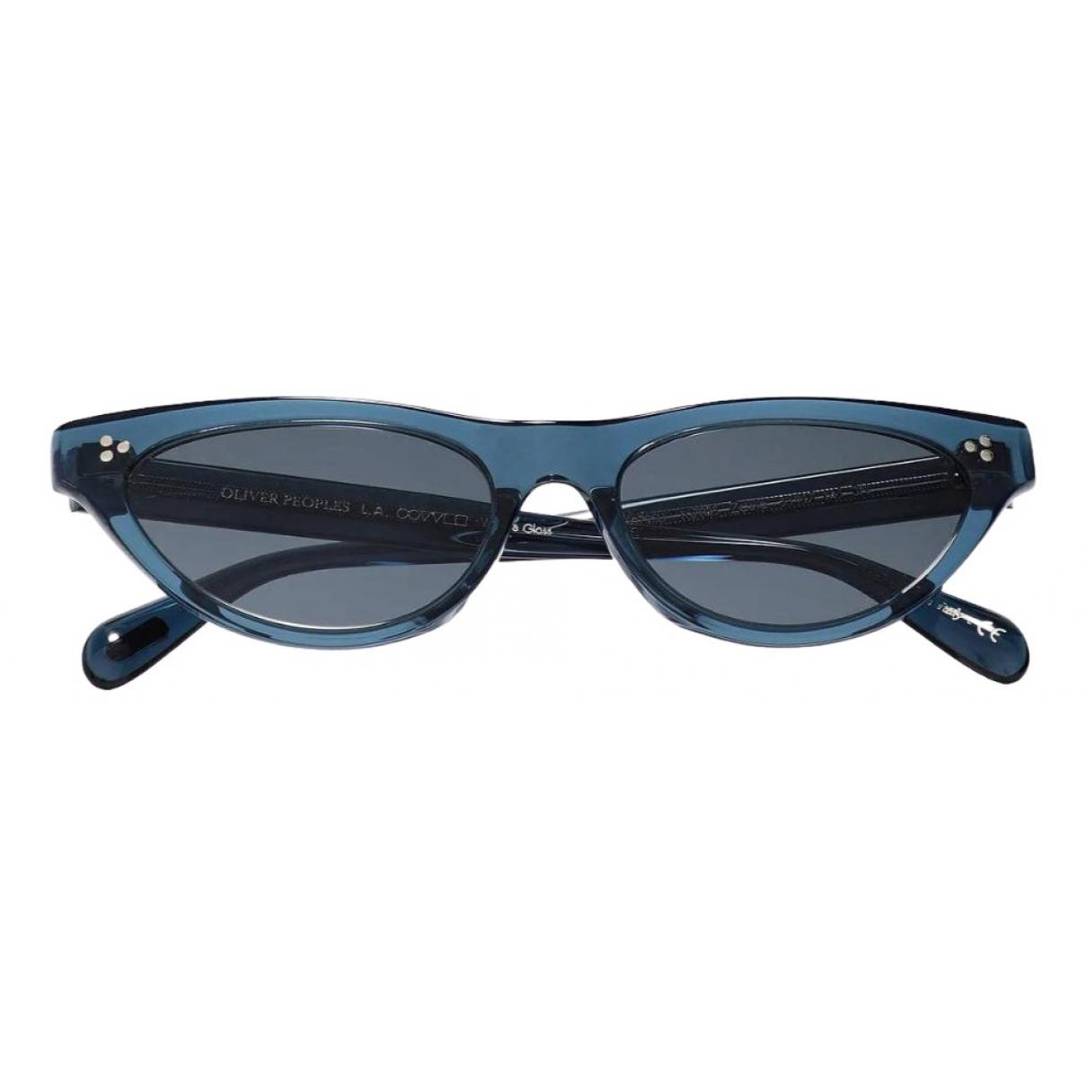Oliver Peoples \N Sonnenbrillen Blau