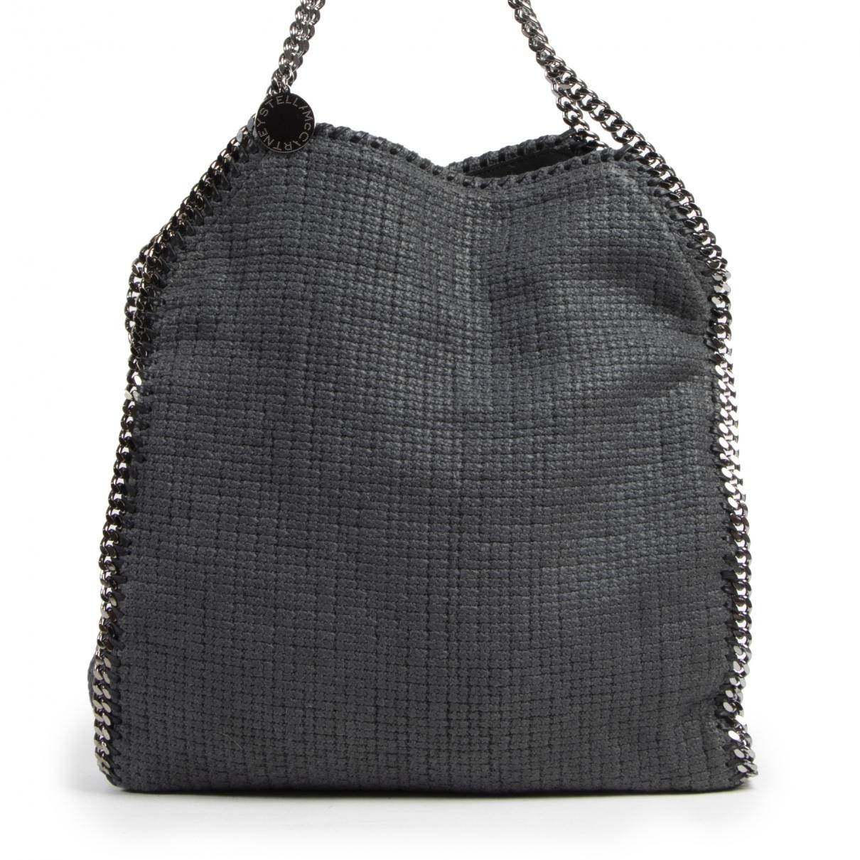 Stella Mccartney Falabella Handtasche in  Grau Baumwolle
