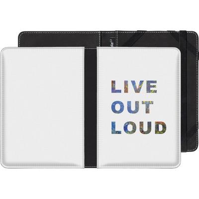 Amazon Kindle eBook Reader Huelle - Live Out Loud von Kaitlyn Parker