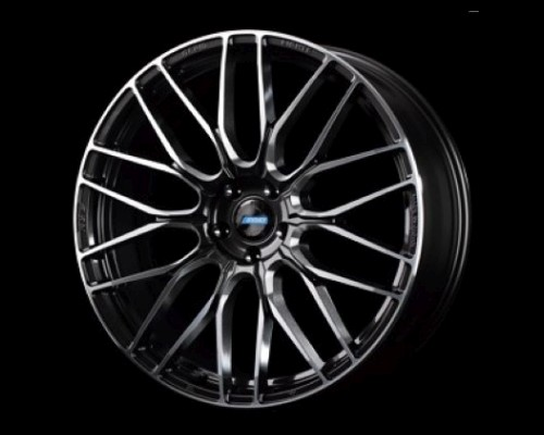 GramLights WGACAV38MHF 57CNA Wheel 20x8.5 5x112 38mm Super Dark Gunmetal/DC/Machining