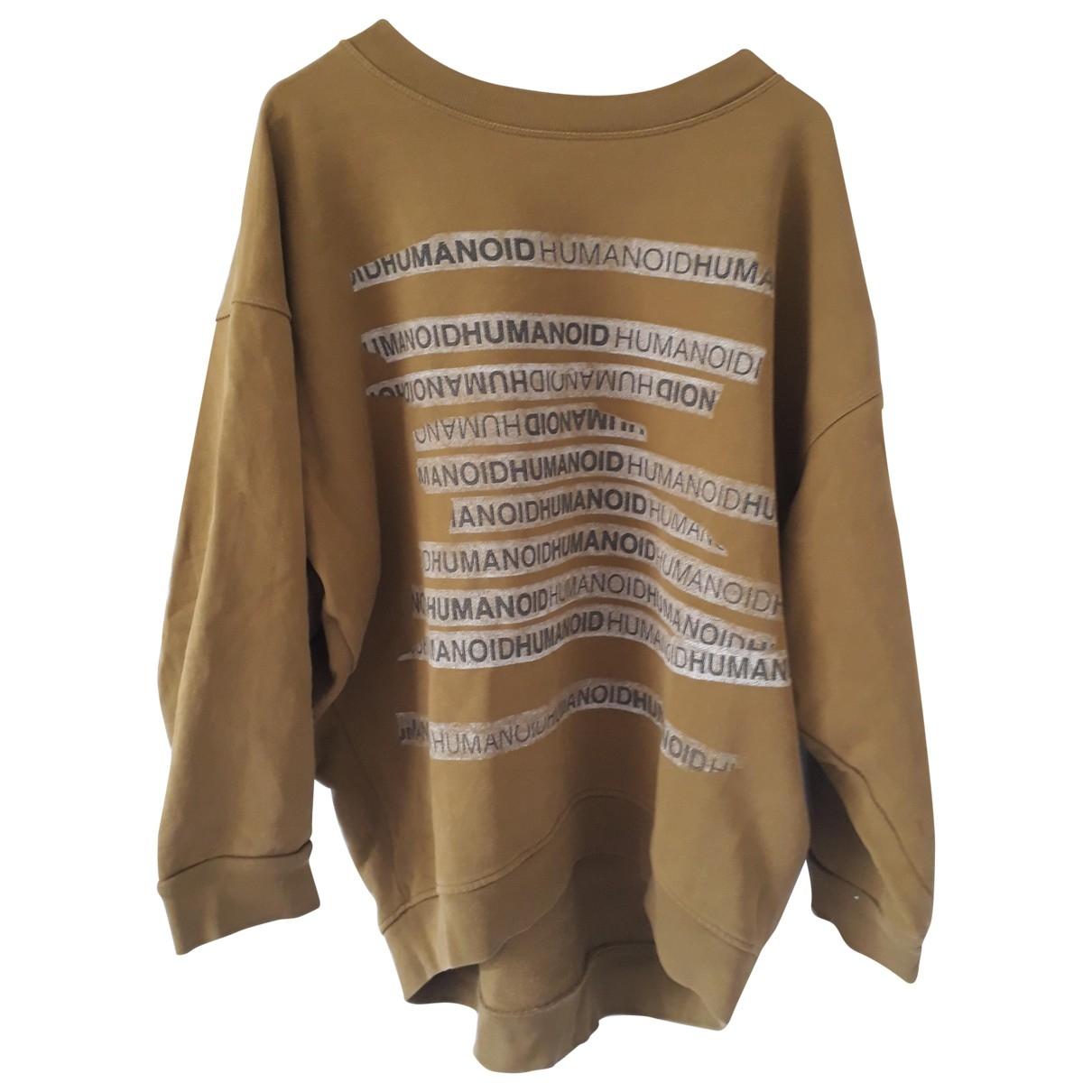 Humanoid \N Khaki Cotton  top for Women XS International