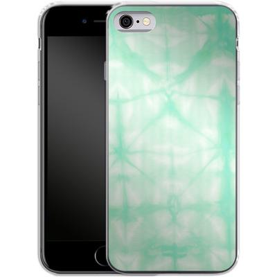 Apple iPhone 6s Silikon Handyhuelle - Tie Dye 2 Mint von Amy Sia