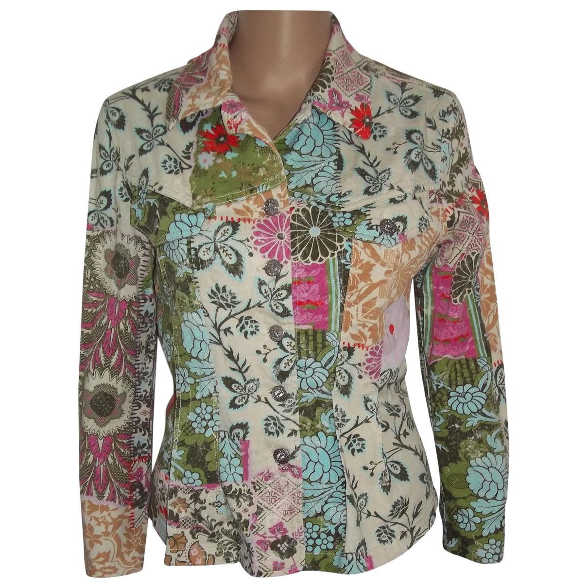 Kenzo - Veste   pour femme en coton - multicolore