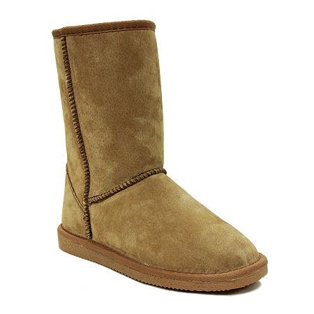 Lamo Womens Classic 9 Winter Boots Flat Heel, 12 Medium, Brown