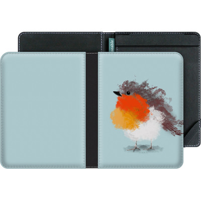 tolino vision 4 HD eBook Reader Huelle - Cloudy Robin von caseable Designs