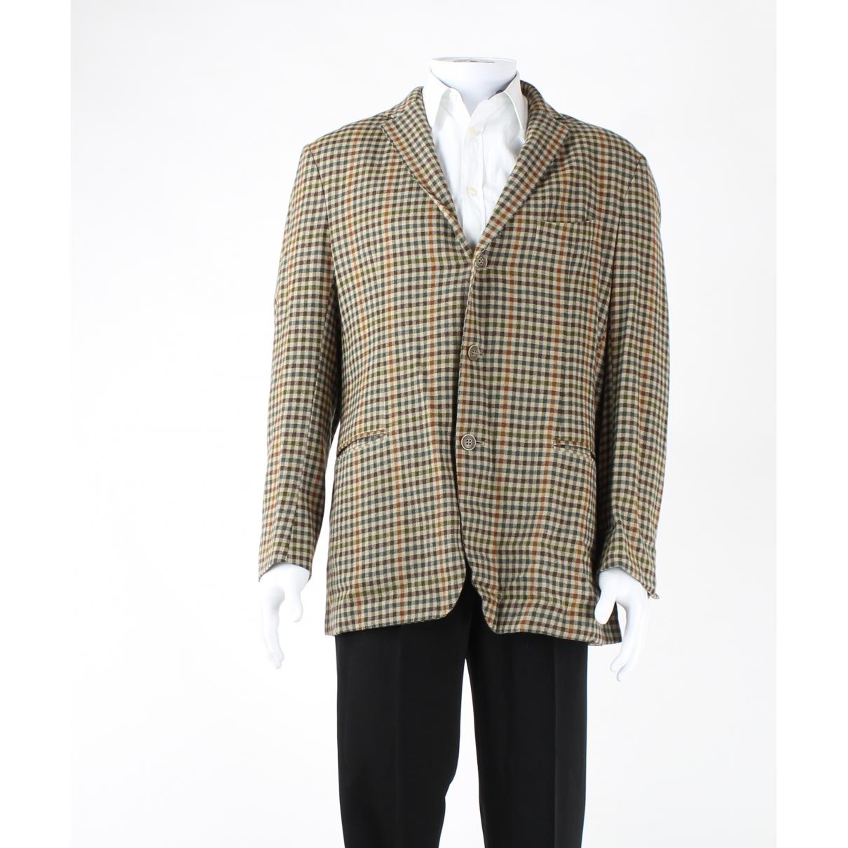 Etro - Vestes.Blousons   pour homme en laine - marron