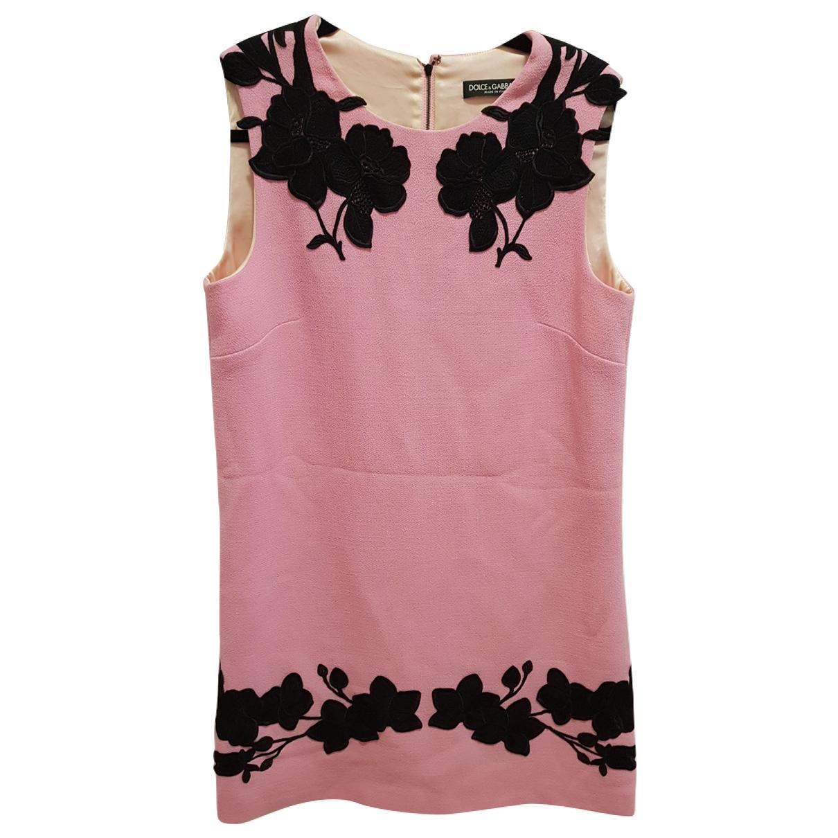 Dolce & Gabbana - Robe   pour femme - rose