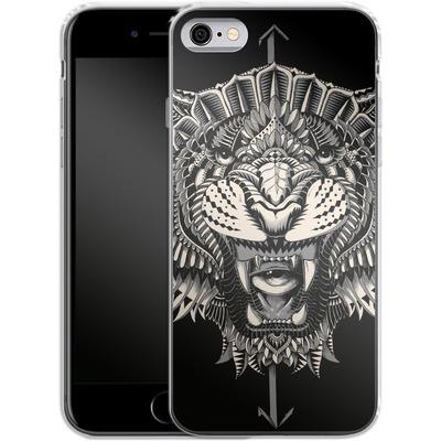 Apple iPhone 6s Silikon Handyhuelle - Eye Of The Tiger von BIOWORKZ