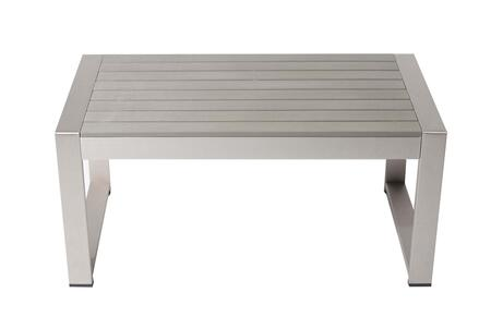 BM172075 Anodized Aluminum Perfect Outdoor table