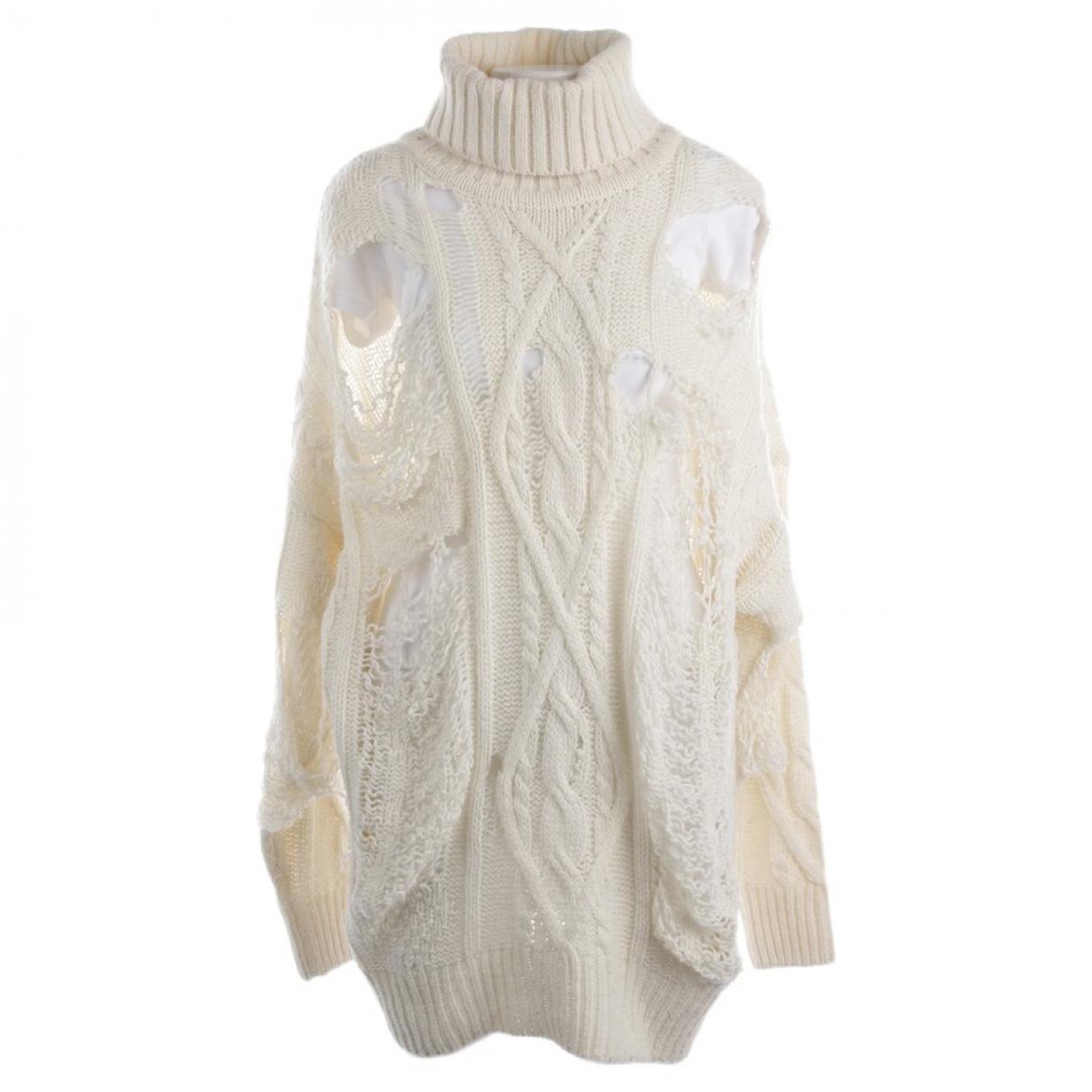 Faith Connexion \N White Wool Knitwear for Women XS International