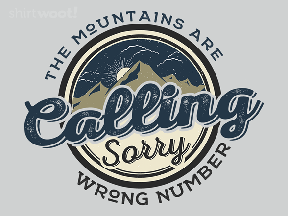 Wrong Number T Shirt