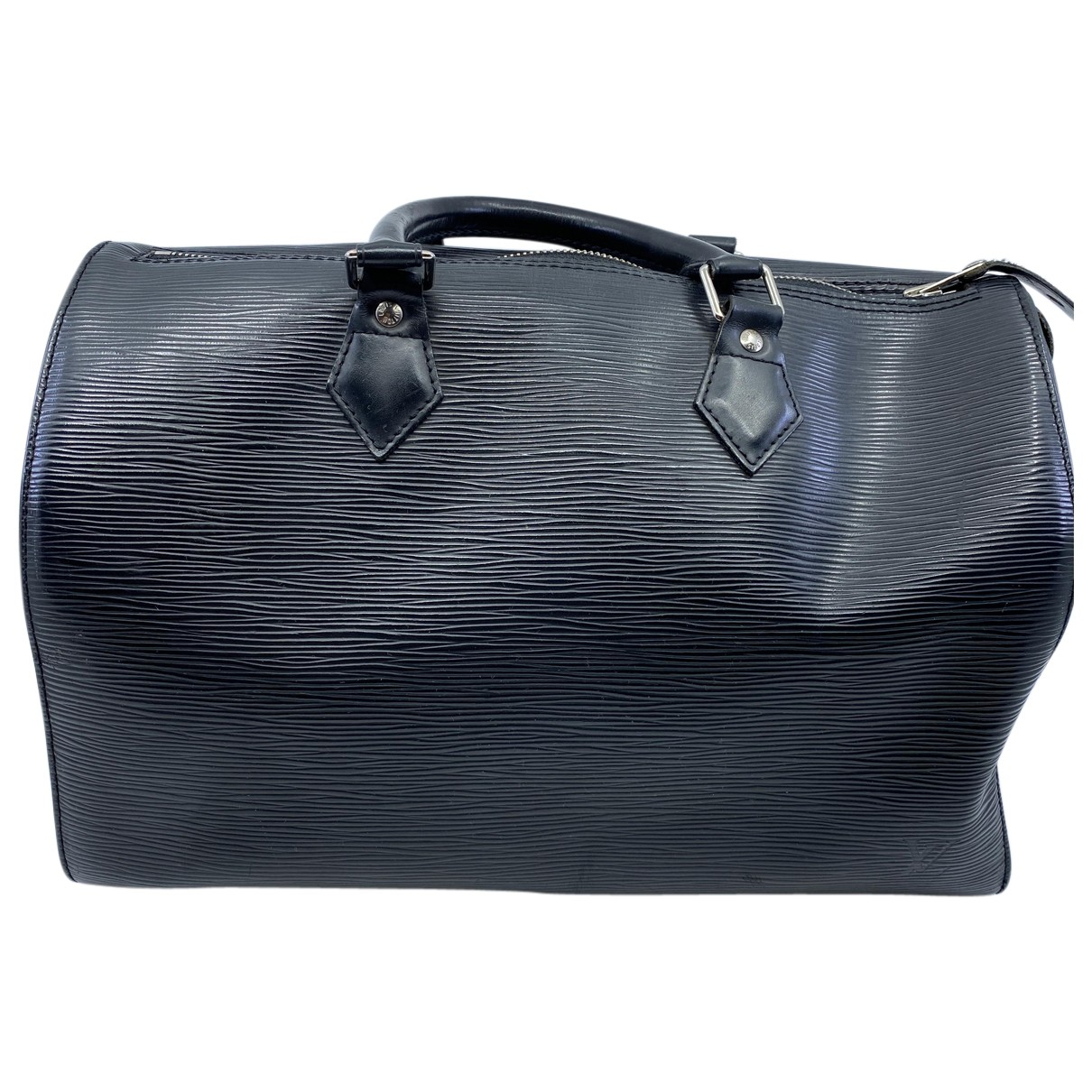 Louis Vuitton Speedy Black Leather handbag for Women N