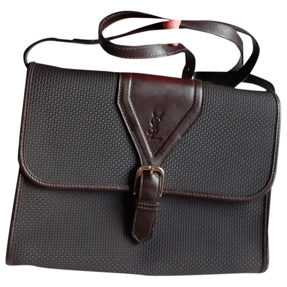 Yves Saint Laurent \N Brown handbag for Women \N