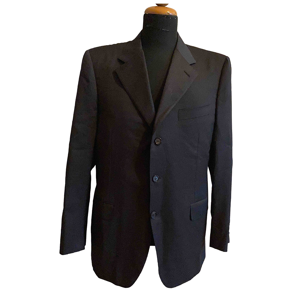 Lanvin \N Anthracite Wool jacket  for Men 50 IT