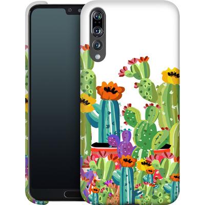 Huawei P20 Pro Smartphone Huelle - Cacti Land von Mukta Lata Barua