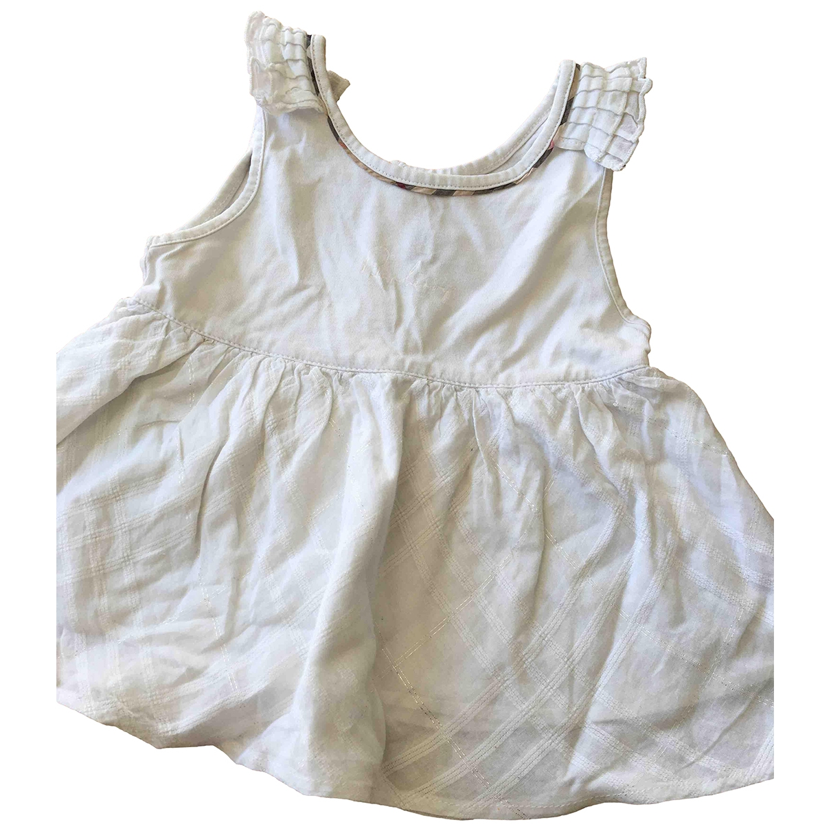 Burberry \N White Cotton Outfits for Kids 3 years - up to 98cm FR