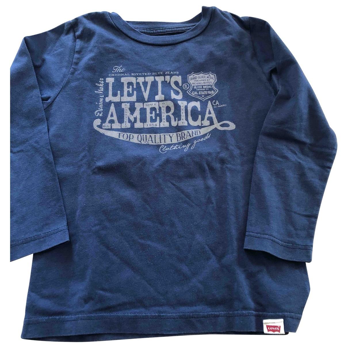 Levis \N Oberteile in  Blau Baumwolle