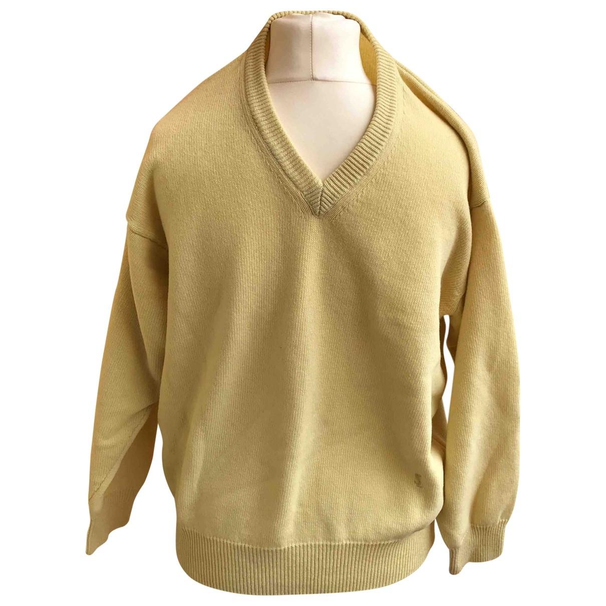 Yves Saint Laurent \N Pullover.Westen.Sweatshirts  in  Gelb Wolle