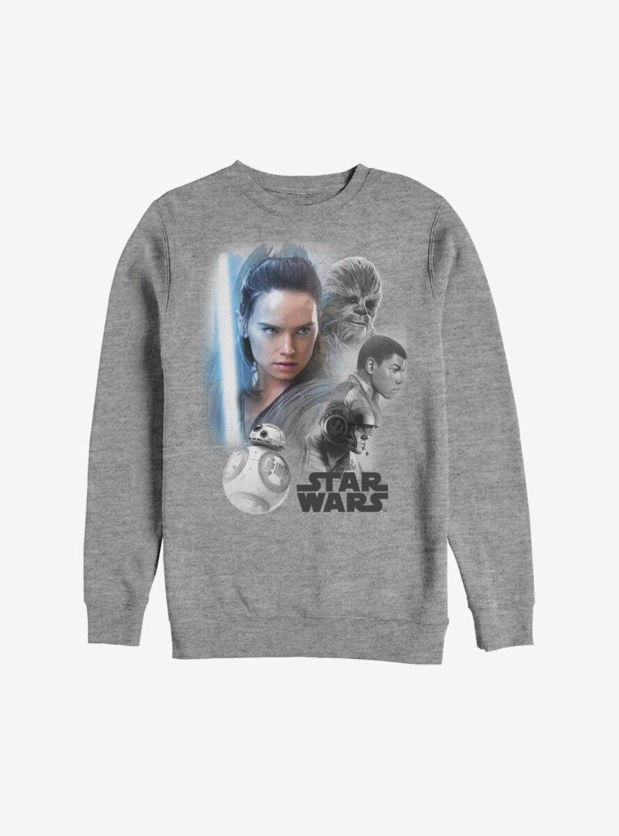 Star Wars Episode VIII The Last Jedi Real Heroes Sweatshirt