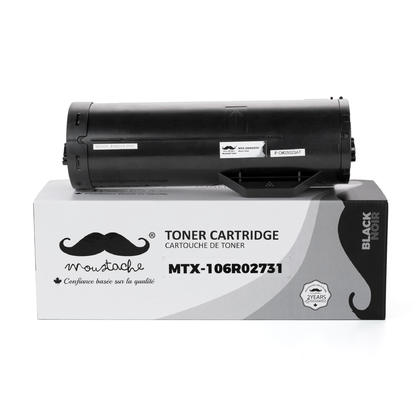 Compatible Xerox 106R02731 Black Toner Cartridge Extra High Yield - Moustache@