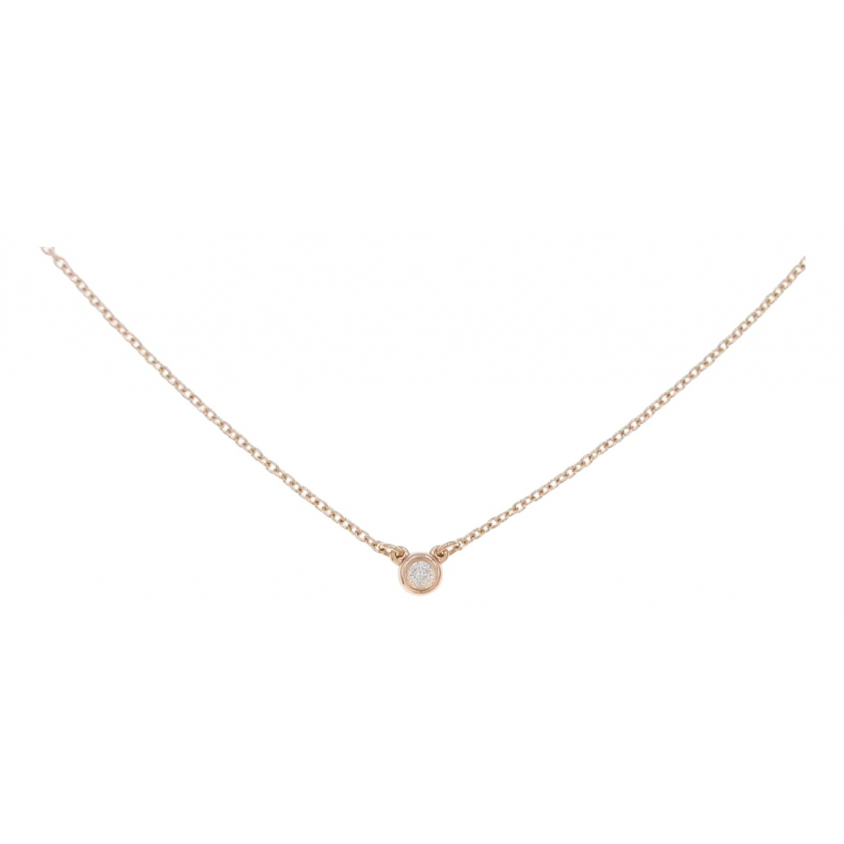 Tiffany & Co \N Gold Pink gold necklace for Women \N