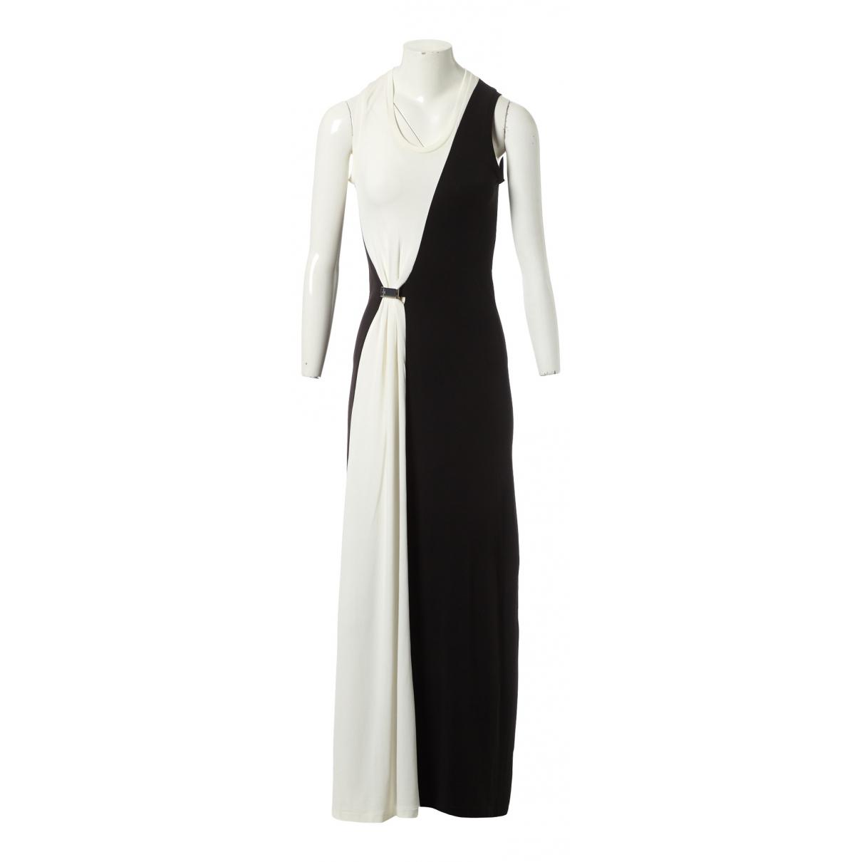 Louis Vuitton \N Kleid in  Schwarz Viskose
