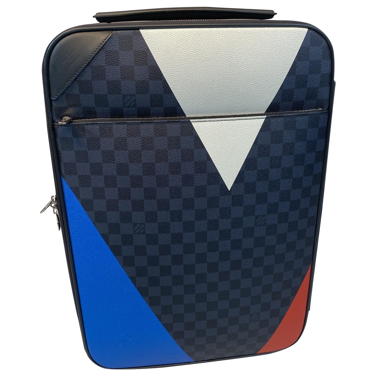 Louis Vuitton Pegase Navy Cloth bag for Men \N