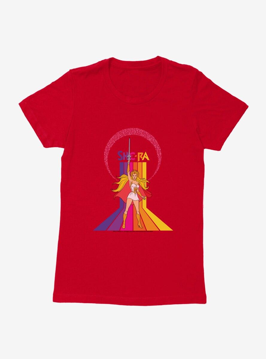She-Ra Rainbow Womens T-Shirt